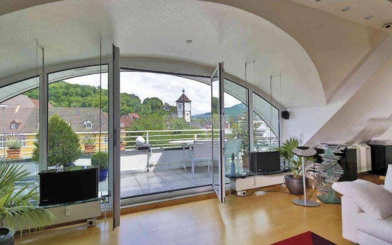 Wohnzimmer Dachterrasse
