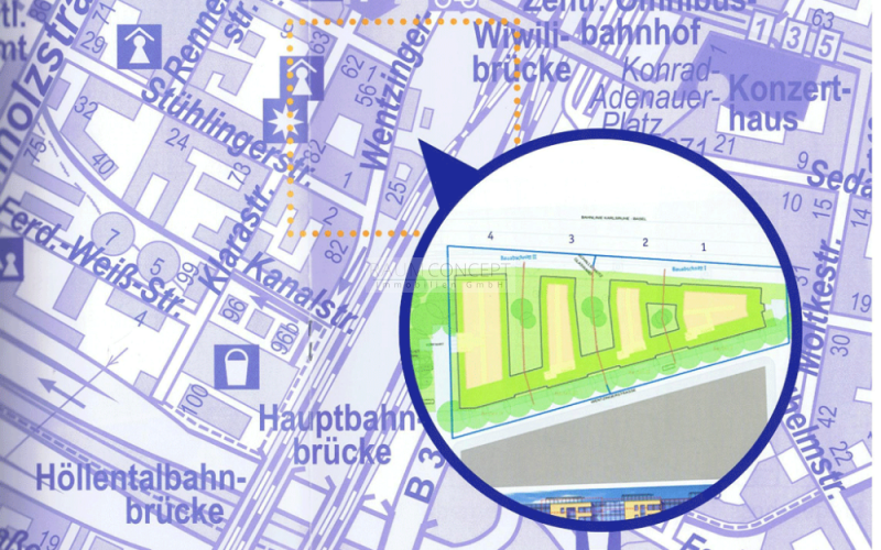 Straßenplan